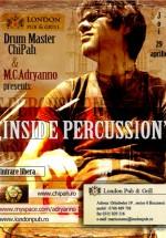 Inside percussion la London Pub & Grill din Bucureşti