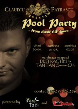Pool Party la Tan Tan Summer Club din Mamaia