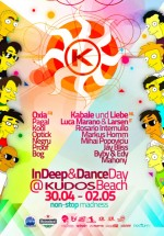 InDeep & DanceDay la Kudos Beach din Mamaia
