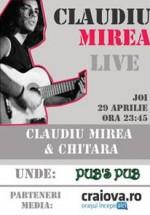 Concert Claudiu Mirea la Pub's Pub din Craiova