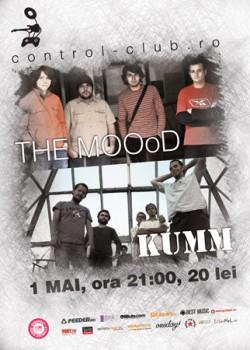 Concert The MOOod & Kumm în Club Control din Bucureşti