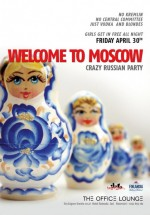 Welcome to Moscow la The Office Lounge din Iaşi