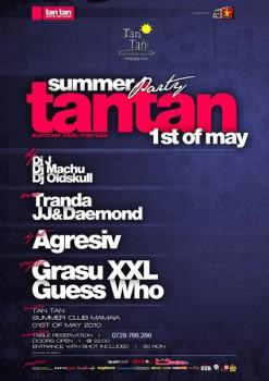 1st of may la Tan Tan Summer Club din Mamaia