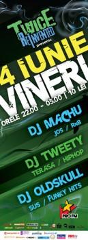 DJ Machu, DJ Tweety & DJ Oldskull în Club Twice din Bucureşti