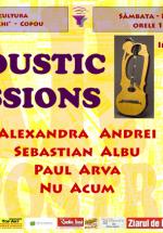 Acoustic Sessions la Casa de Cultură Mihai Ursachi din Iaşi