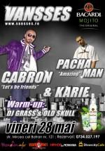 Concert Pacha Man, Cabron & Karie la Club Vansses din Constanţa