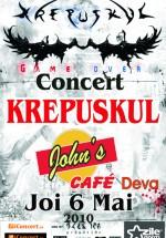 Concert Krepuskul la John's Cafe din Deva