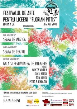Festivalul Naţional de Arte pentru liceeni Florian Pittiş la Teatrul Lucia Sturdza Bulandra din Bucureşti
