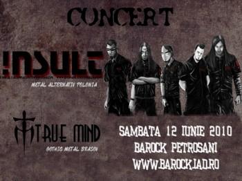 Concert !nsul & True Mind la Club Barock din Petroşani