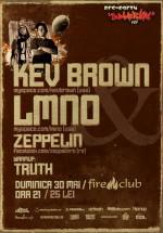 Kev Brown, LMNO & Zeppelin în Fire Club din Bucureşti