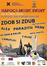 Napoca Music Event 2010 la Sala Sporturilor din Cluj-Napoca