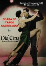 Seara de tango argentinian la Old City din Bucureşti