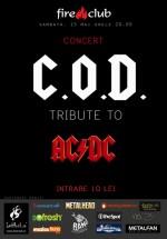 Concert COD în Fire Club din Bucureşti