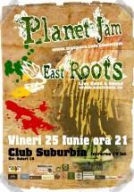 Planet Jam & East Roots Live Band & Sound în Club Suburbia din Bucureşti