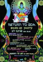 Return to Goa Festival Warm Up Party în Club Suburbia din Bucureşti