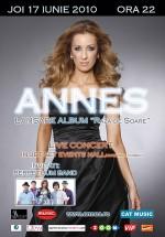 Lansare album Annes la Jet Set Events Hall din Bucureşti