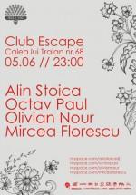 Alin Stoica, Octav Paul, Olivian Nour & Mircea Florescu în Club Escape din Râmnicu Vâlcea