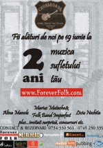 Aniversare ForeverFolk la 100 Crossroads din Bucureşti