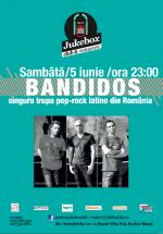 Concert Bandidos în Club Jukebox din Bucureşti