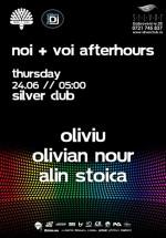 Noi + Voi Afterhours în Club Silver din Bucureşti