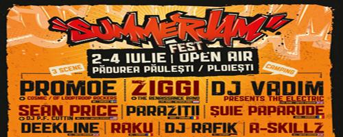 Programul Festivalului SummerJam 2010