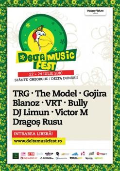 Delta Music Fest 2010 la Sfântu Gheorghe