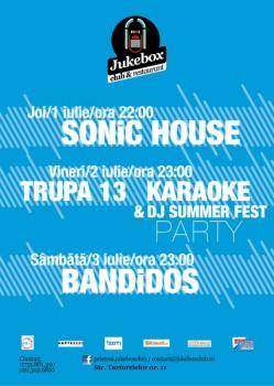 Concerte în Club Jukebox din Bucureşti