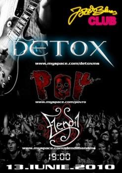 Detox, POV & Elendil la Jazz & Blues Club din Târgu Mureş