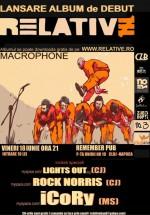 Lansare album Relative în Remeber Pub din Cluj-Napoca