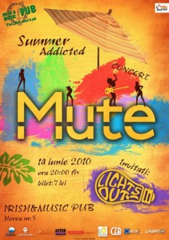 Concert Mute la Irish & Music Pub din Cluj-Napoca