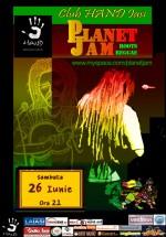 Concert Planet Jam în Club Hand din Iaşi