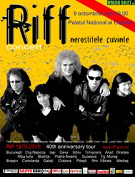 Concert Riff la Palatul Naţional al Copiilor din Bucureşti