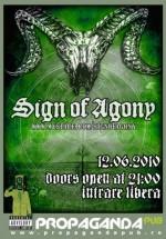 Concert Sign of Agony în Propaganda Pub din Sibiu