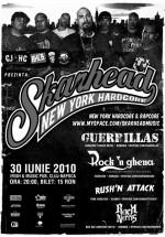 Concert Skarhead în Irish & Music Pub din Cluj-Napoca