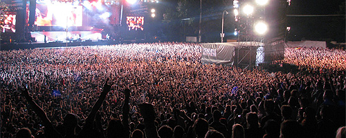 POZE: Tuborg Green Fest – Sonisphere Festival 2010
