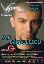 Vali Barbulescu la Club Vision din Neptun