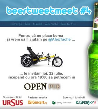 BeerTweetMeet 4 la Open Pub din Bucureşti