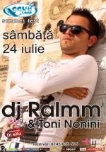 DJ Ralmm la Aqua Club din Focşani