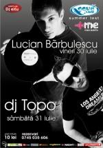 Lucian Barbulescu & DJ Topo la Aqua Club din Focşani