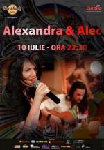Concert Alexandra & Alec la Hard Rock Cafe din Bucureşti
