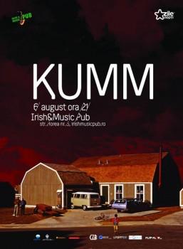 Concert Kumm la Irish & Music Pub din Cluj-Napoca