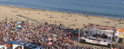 Concertele lunii iulie 2010 la mare