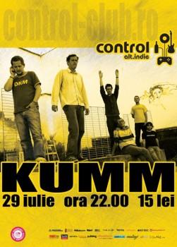 Concert Kumm în Club Control din Bucureşti
