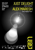 Just Delight & Alex Maresh în Club Raum din Cluj-Napoca