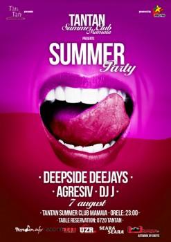 Deepside Deejays la Tan Tan Summer Club din Mamaia