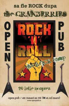Să fie Rock după The Cranberries la Open Pub din Bucureşti