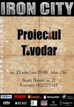 Concert Proiectul Tivodar la Iron City din Bucureşti