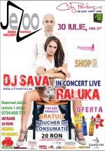 Dj Sava & Raluka la Jezoo Club & Lounge din Mamaia