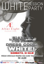 White Session Party la After Eight din Cluj-Napoca