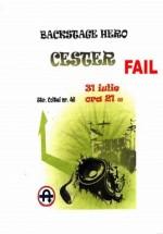 Concert Backstage Hero şi Chester în Club Underworld din Bucureşti